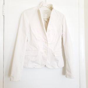 🎀Club Monaco Cotton Blazer Jacket White